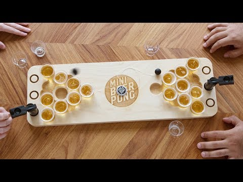 Pack up the beer pong and play anywhere.