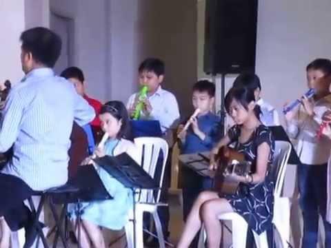 Tim Santiago Rodriguez wth CFA Orchestra - Edelweiss
