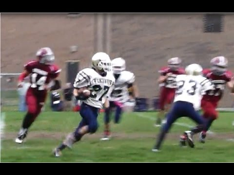 Eric Duhamel #27 (Class Of 2018) 2014-15 Football Season RB Highlights