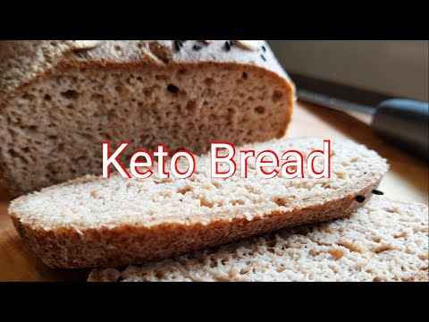 HOW TO MAKE THE BEST KETO BREAD - SOFT, FLUFFY & CRISPY WHEN TOASTED !