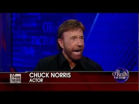 Chuck Norris enters 'No Spin Zone' - The O'Reilly Factor - 2012