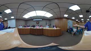 Groves City Council Meeting July 22, 2019 360 video
