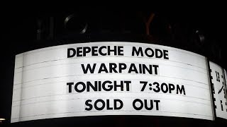 Depeche Mode concert - live - Hollywood Bowl - Los Angeles CA - October 18, 2017