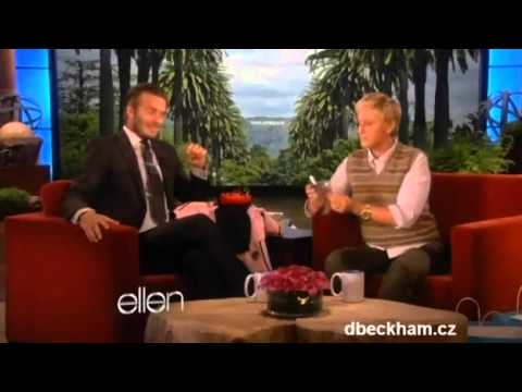 David Beckham Ellen DeGeneres 16 september 2011