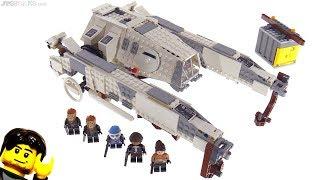Baixar LEGO Star Wars Imperial AT-Hauler review! 75219