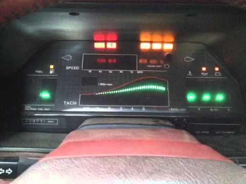Digital Dash Test 1986 Nissan 300zx Turbo