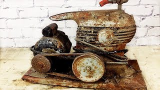 1929 Air Compressor Restoration - Restored to New Condition - I Didn't Think It Would Run