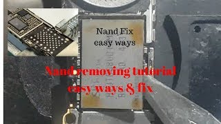 iPhone6 plus 4013 Error!Nand Remove and Fix easy way.
