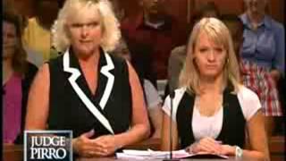 Mother threatens daughters boyfriend On Judge Pirro