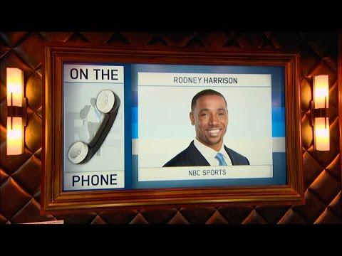 NBC NFL Analyst Rodney Harrison Picks The Best Team In NFL & More - 11/21/16