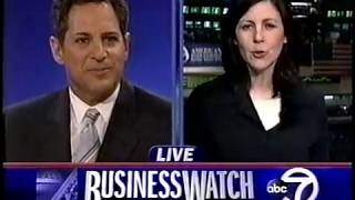 WABC NY EYEWITNESS NEWS-4/6/04-Bill Ritter, Sade Baderinwa