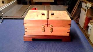 Accordion Sewing Box Plans