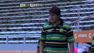 Gol de Galván. Aldosivi 1 - Argentinos 0. Fecha 2. Campeonato de Primera División 2016.