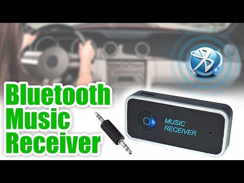 Bluetooth Music Receiver I Wireless Music I Bluetooth Aux I 3.5mm Bluetooth Adapter