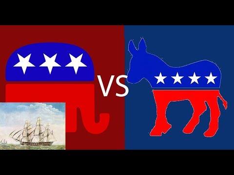 What if Civil War broke out between Republicans and Democrats?