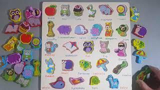 學習ABC英文字母遊戲