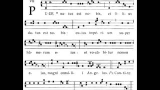 Puer natus - Introit Mass for Christmas Day.mp4