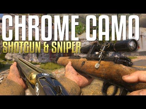 Shotguns & Snipers: Chrome Camo Quest #13 (Call of Duty: WW2 Gameplay Stream)