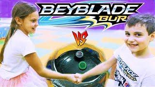 БейБлэйд Городской Турнир в ТЦ Депот Мальчики VS Девочки BeyBlade Burst