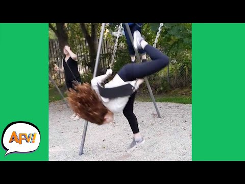 Swung STRAIGHT Into the FAIL! 🤣 | Funny Fails | AFV 2021