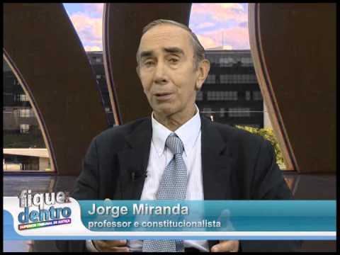 PROFESSOR JORGE MIRANDA NO STJ