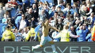 Manchester City Wins the Premier League.  Everyone Goes Nuts. (2015)