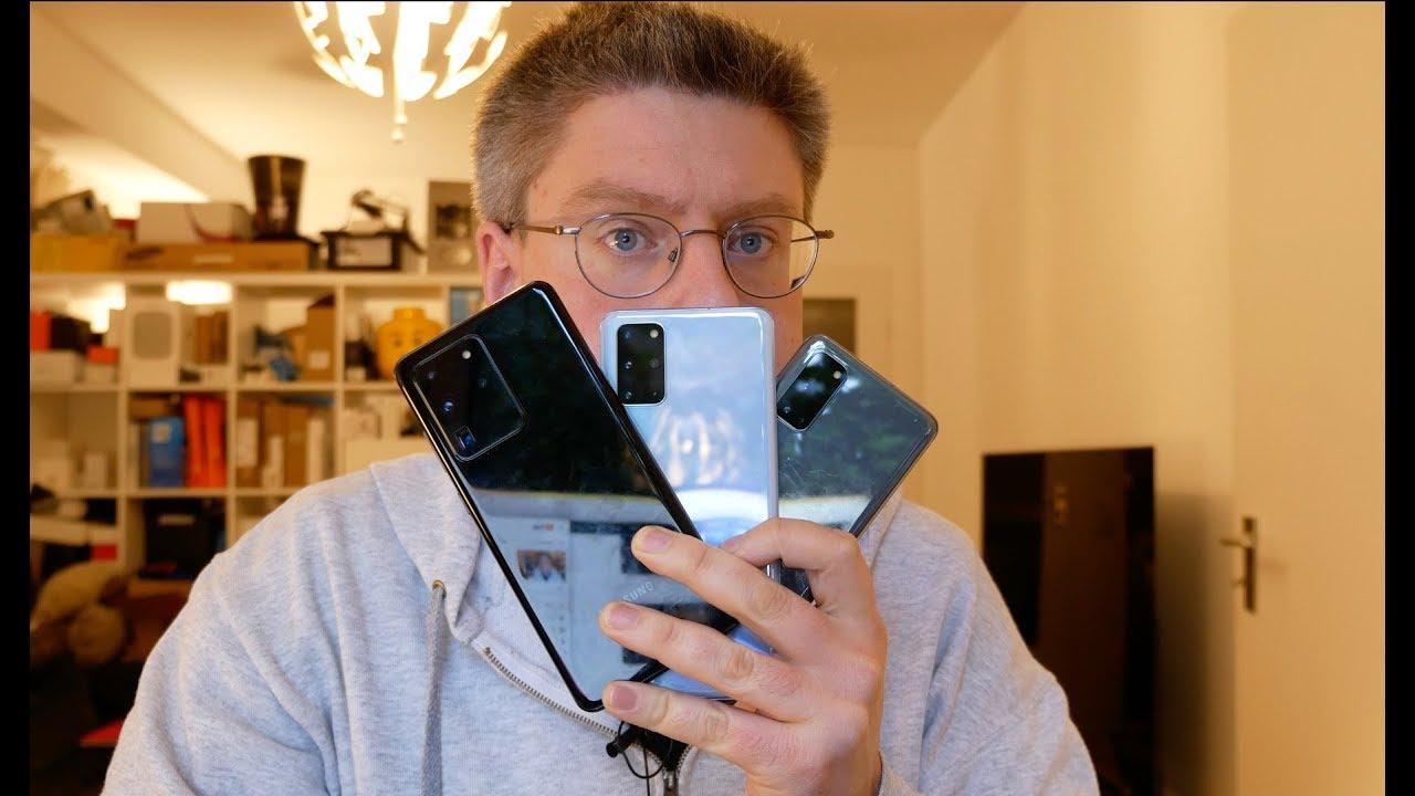Samsung Galaxy S20 vs S20+ vs S20 Ultra Vergleich & Erfahrungsbericht