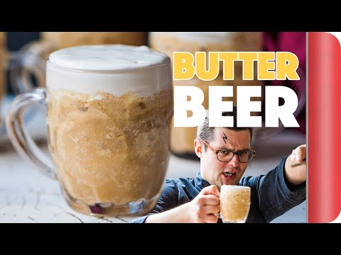 Butterbeer Recipe With A Real Life Harry Potter!!
