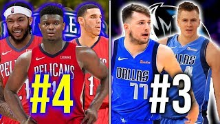 Ranking the 10 Best Young Cores in the NBA
