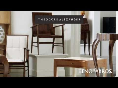 Leigh And Leslie Keno Introduce The Keno Brothers Collection For Theodore  Alexander