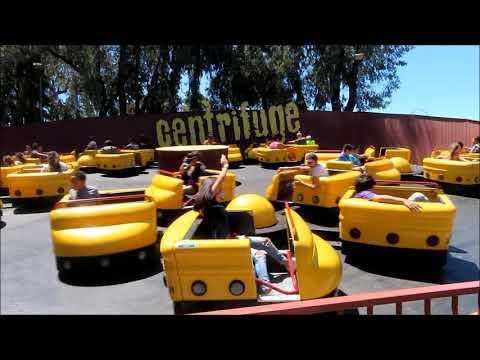 Rides At California's Great America - Santa Clara, California
