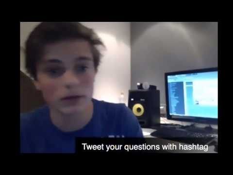 Martin Garrix talking about my FL Studio remake of Torrent