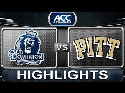 2013 ACC Football Highlights   Old Dominion Vs Pittsburgh   ACCDigitalNetwork