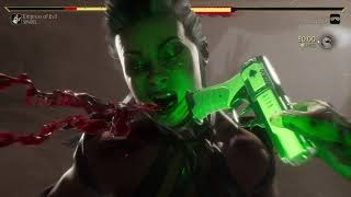 Mortal Kombat 11 Sindel vs Cassie Cage