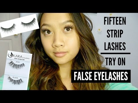 f385be4830 $1 AOA STUDIO FALSE EYELASHES | SHOPMISSA | FULL TRY ON AND REVIEW ...