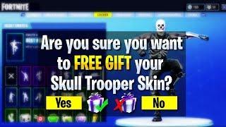 *NEW* How To GIFT SKINS in Fortnite! NEW Fortnite Gifting SYSTEM! (Fortnite: Battle Royale Gifting)!