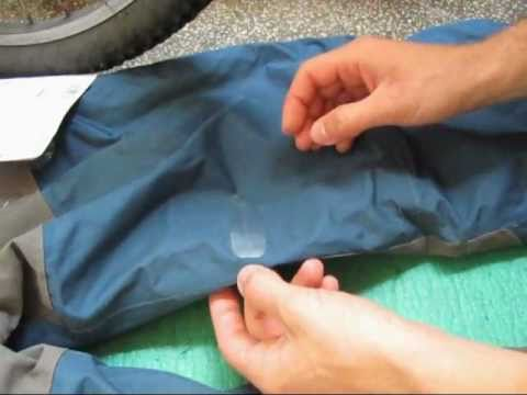 How To Patch Your Waterproof Jacket, Pants or Gear with Tenacious Sealing & Repair Tape