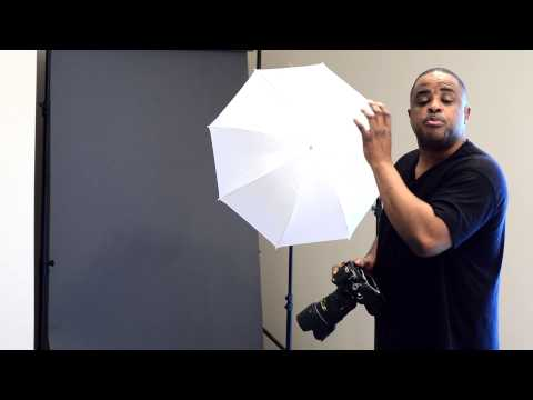 USE CAUTION!! when Using Shoot thru Umbrellas for Soft Light