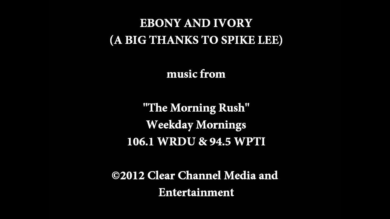 Ebony And Ivory Parody - Free Hd Tube Porn-9164