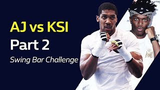 ANTHONY JOSHUA vs KSI Part 2: Swing Bar Challenge | William Hill Boxing