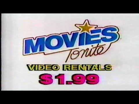 Movies Tonite Video Rental Louisville KY Commercial (1987)