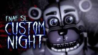 FIVE NIGHTS AT FREDDY'S SISTER LOCATION CUSTOM NIGHT ✮ FNAF SL