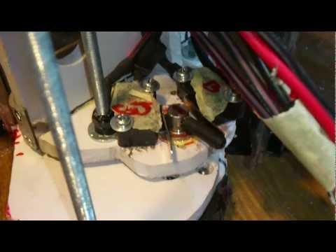 ГПС в перчаточный ящик Мазда 6 механизм отсечки
