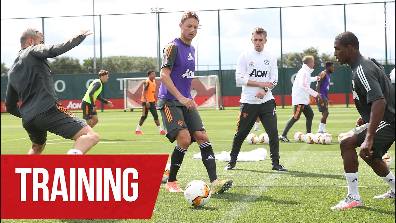 TRAINING | Solskjaer's Reds putting in the hard yards ahead of Europa League return | Man United