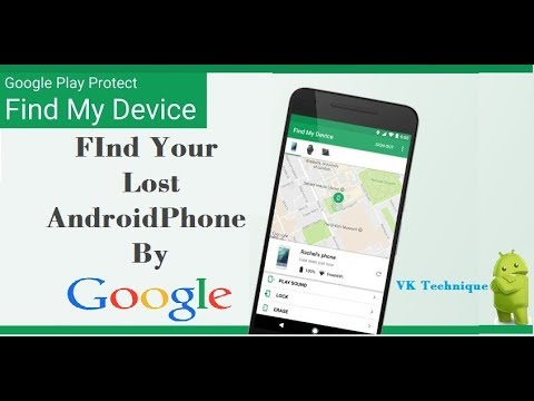 How To Track Your Lost Smart Phone By Google Map || Google Device Manager || Google Find My Device