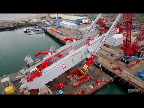 Port of Blyth Supports Royal IHC Launch of the J-Lay System