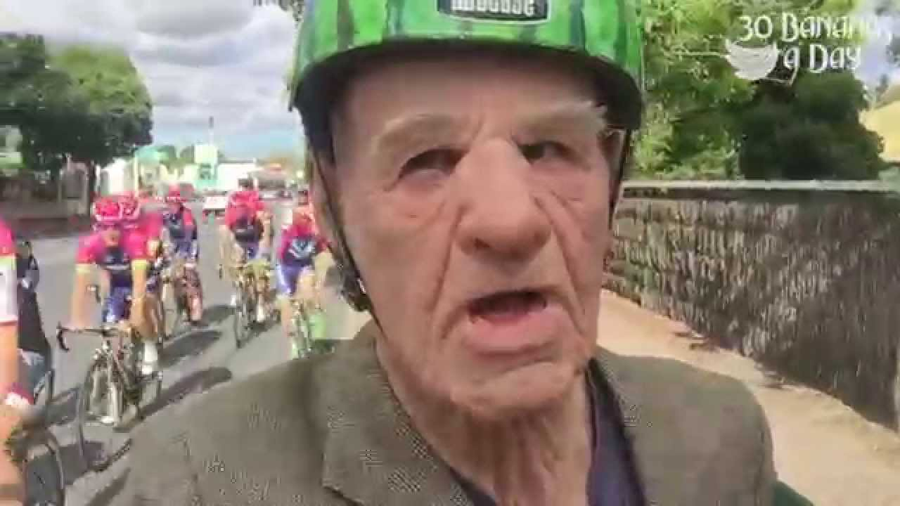 82 Year Old Ex Pro Vs Tour Down Under World Tour Riders -8454