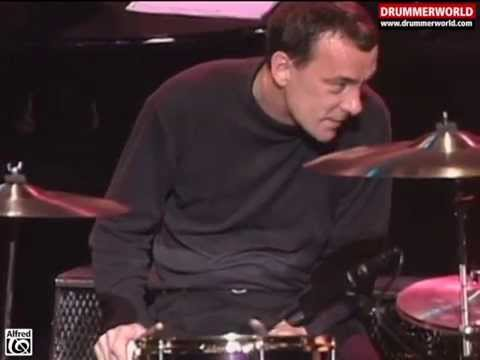 Neil Peart & The Buddy Rich Big Band: Drum Solo - Cotton Tail - 1994