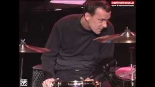 Neil Peart (R.I.P.) & The Buddy Rich Big Band: Drum Solo - Cotton Tail - 1994