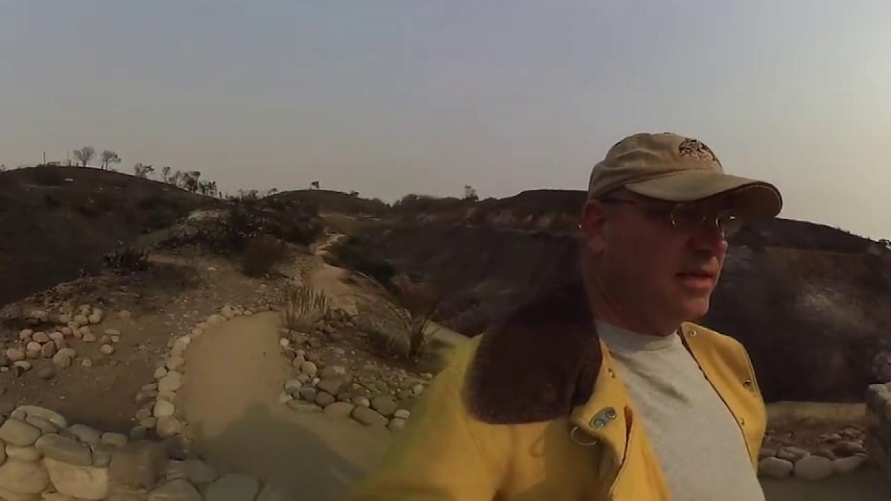 Ventura Botanical Garden Trail Post-Fire - YouTube